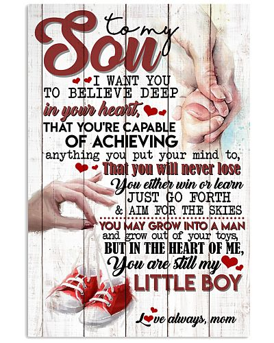TO SON - SHOES - LITTLE BOY