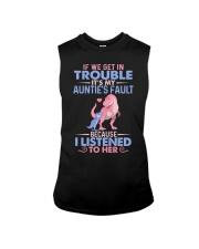 IT'S MY AUNTIE'S FAULT Sleeveless Tee thumbnail