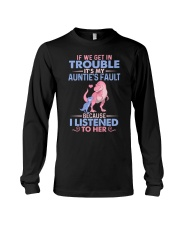 IT'S MY AUNTIE'S FAULT Long Sleeve Tee thumbnail