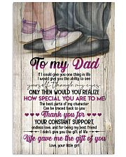 TO MY DAD - DANCING - IF I COULD GIVE YOU 16x24 Poster front