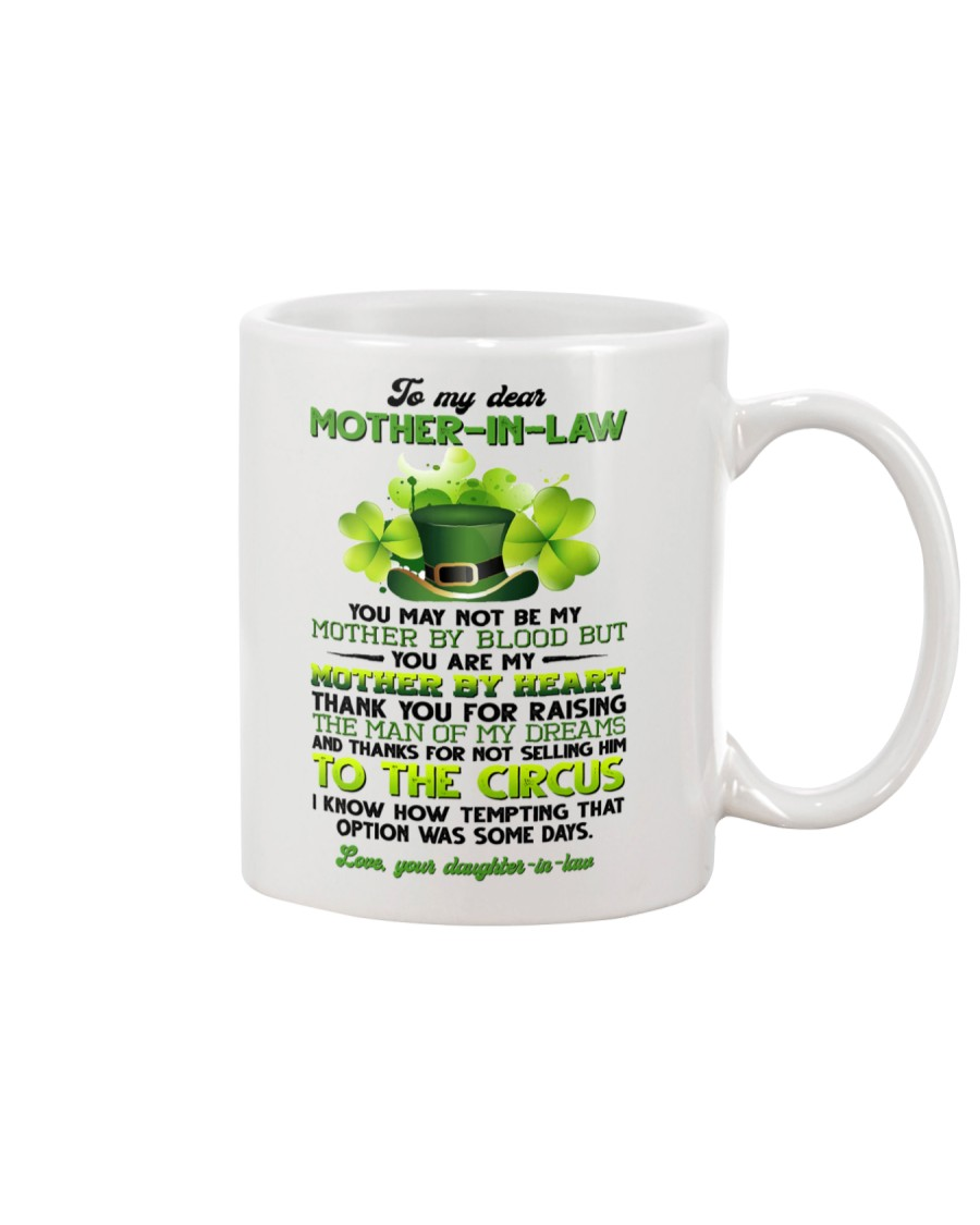 TO MY MOTHER-IN-LAW - SHAMROCK - THANK YOU Mug