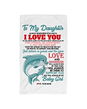 MOM TO DAUGHTER Hand Towel thumbnail