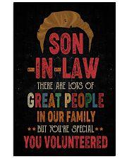 POSTER  - SON-IN-LAW - VINTAGE - YOU VOLUNTEERED Vertical Poster tile