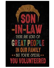 POSTER  - SON-IN-LAW - VINTAGE - YOU VOLUNTEERED 16x24 Poster front