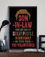 POSTER  - SON-IN-LAW - VINTAGE - YOU VOLUNTEERED 16x24 Poster lifestyle-poster-2