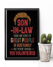 POSTER  - SON-IN-LAW - VINTAGE - YOU VOLUNTEERED 16x24 Poster lifestyle-poster-8