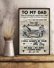 POSTER - TO MY DAD - FISHING  16x24 Poster lifestyle-poster-3