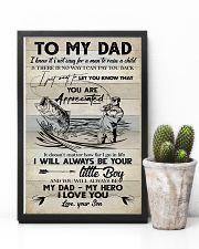POSTER - TO MY DAD - FISHING  16x24 Poster lifestyle-poster-8