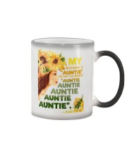 My nickname is ''auntie'' Color Changing Mug thumbnail