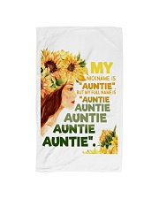 My nickname is ''auntie'' Hand Towel thumbnail
