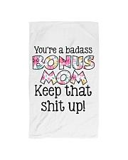 You're a badass bonus mom Hand Towel thumbnail