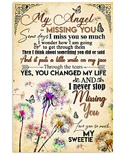 MY ANGEL IN HEAVEN - DANDELION - MISS YOU 16x24 Poster front