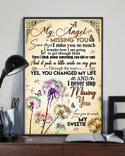 MY ANGEL IN HEAVEN - DANDELION - MISS YOU 16x24 Poster lifestyle-poster-2
