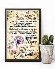 MY ANGEL IN HEAVEN - DANDELION - MISS YOU 16x24 Poster lifestyle-poster-8