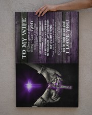 To My Wife - When I Asked God To Make Me A Better 20x30 Gallery Wrapped Canvas Prints aos-canvas-pgw-20x30-lifestyle-front-29