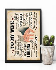 Wife - Hand In Hand - Love Isn't Finding Someone 16x24 Poster lifestyle-poster-8