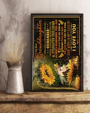 To Granddaughter - I Want You To Know I Love You  16x24 Poster lifestyle-poster-3