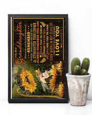 To Granddaughter - I Want You To Know I Love You  16x24 Poster lifestyle-poster-8