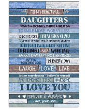 To my daughters - Canvas Vertical Poster tile