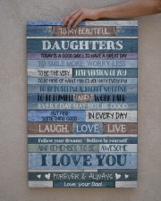To my daughters - Canvas 20x30 Gallery Wrapped Canvas Prints aos-canvas-pgw-20x30-lifestyle-front-29