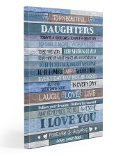 To my daughters - Canvas 20x30 Gallery Wrapped Canvas Prints front