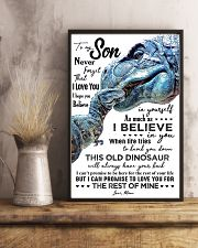 MOM TO SON - T REX - WHEN LIFE TRIES 16x24 Poster lifestyle-poster-3