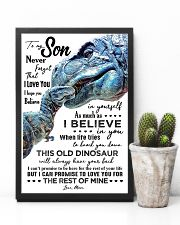 MOM TO SON - T REX - WHEN LIFE TRIES 16x24 Poster lifestyle-poster-8