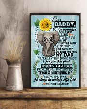 DEAR DADDY - ELEPHANT - THANK YOU 16x24 Poster lifestyle-poster-3