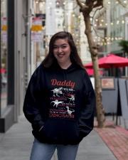HOODIE - BLACK - FAVORITE DINOSAUR Hooded Sweatshirt lifestyle-unisex-hoodie-front-2