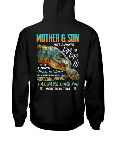 T-SHIRT - TO SON - T REX - NOT ALWAYS EYE TO EYE