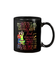 SON TO MOTHER-IN-LAW Mug front