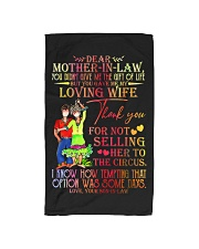 SON TO MOTHER-IN-LAW Hand Towel thumbnail