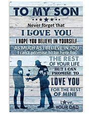 To My Son - Never Forget That I Love You - Poster 16x24 Poster front