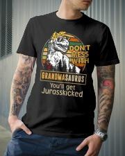 GRANDMASAURUS Classic T-Shirt lifestyle-mens-crewneck-front-6