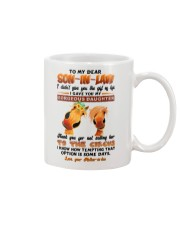 TO MY SON-IN-LAW - HORSE - CIRCUS Mug front