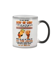 TO MY SON-IN-LAW - HORSE - CIRCUS Color Changing Mug thumbnail
