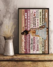 Grandma to Granddaughter - Just Do Your Best  16x24 Poster lifestyle-poster-3