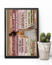 Grandma to Granddaughter - Just Do Your Best  16x24 Poster lifestyle-poster-8