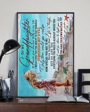 TO MY GRANDDAUGHTER - LIFE IS TOUGH 16x24 Poster lifestyle-poster-2