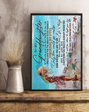 TO MY GRANDDAUGHTER - LIFE IS TOUGH 16x24 Poster lifestyle-poster-3
