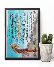 TO MY GRANDDAUGHTER - LIFE IS TOUGH 16x24 Poster lifestyle-poster-8