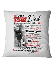 DAUGHTER TO STEPDAD Square Pillowcase tile