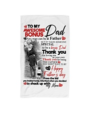 DAUGHTER TO STEPDAD Hand Towel tile