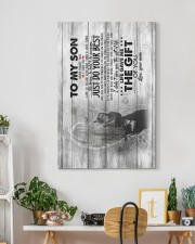 Mom To Son - Canvas 20x30 Gallery Wrapped Canvas Prints aos-canvas-pgw-20x30-lifestyle-front-03