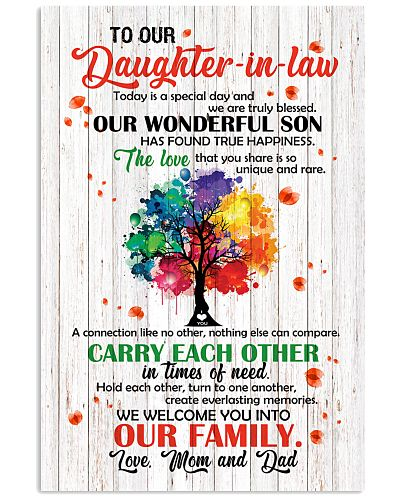 TO OUR DAUGHTER-IN-LAW - TREE - WE LOVE YOU