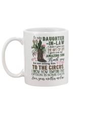 To My Daughter-in-law - Flowers - Circus - Mug Mug back