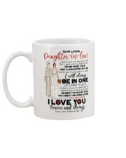 DAUGHTER-IN-LAW - I LOVE YOU FOREVER AND ALWAYS Mug back