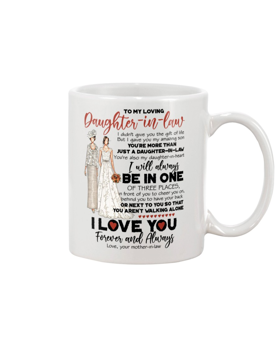 DAUGHTER-IN-LAW - I LOVE YOU FOREVER AND ALWAYS Mug
