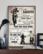 Daughter - Motorcycling - Wherever Your Journey  16x24 Poster lifestyle-poster-2