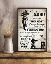 Daughter - Motorcycling - Wherever Your Journey  16x24 Poster lifestyle-poster-3